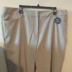 Dress Barn Women's Capri Pants Tummy Control 18